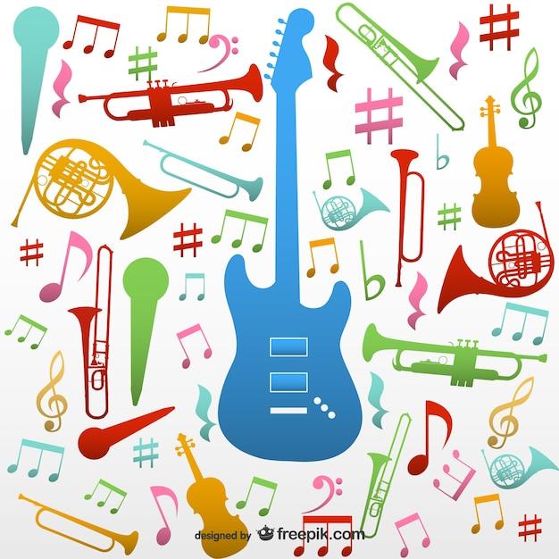 Beliebt Instruments de musique vecteur bagout | Télécharger des Vecteurs  ZO43