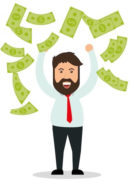 Investisseurs d'affaires Vecteur Premium