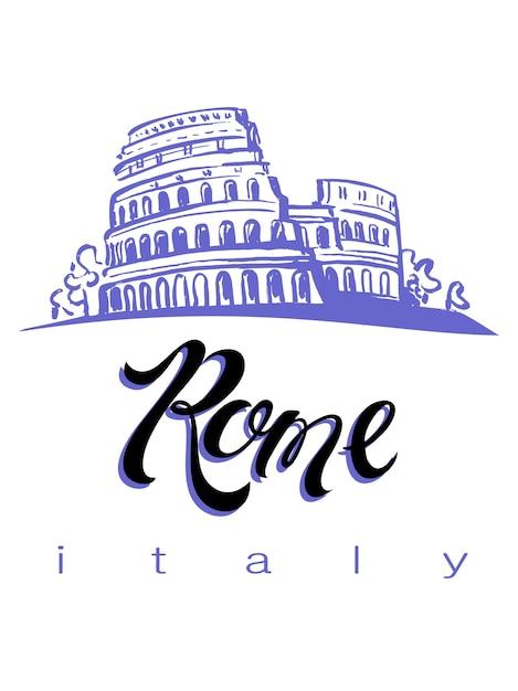 Italie Vecteur Premium