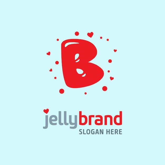 Jelly Logo Bacground Vecteur gratuit