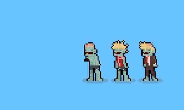 Ensemble De Feu Dartifice Bleu Pixel Télécharger Des