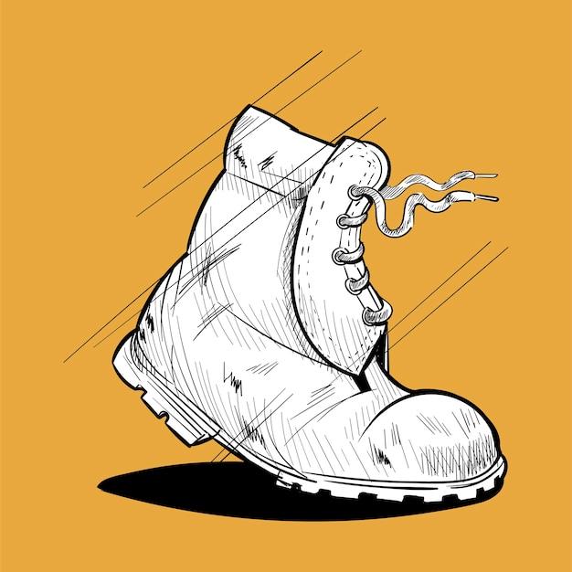 Jeu d'icônes de wanderlust à la main dessin illustration Vecteur gratuit