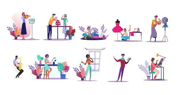 Jeu D'illustrations De Vocations Vecteur gratuit