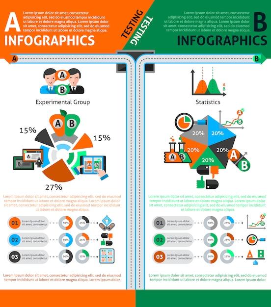 Jeu De Tests D'infographie Vecteur gratuit