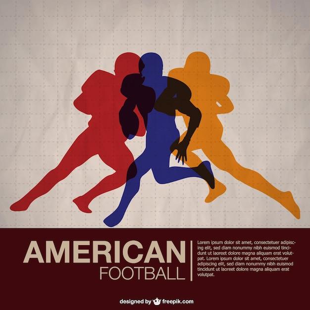joueurs de football am u00e9ricain fond d u0026 39  u00e9cran gratuit