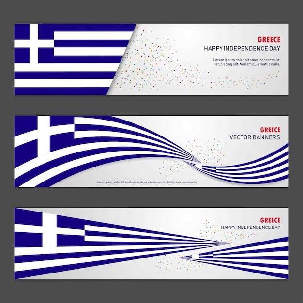Jour de l'indépendance de la grèce Vecteur gratuit
