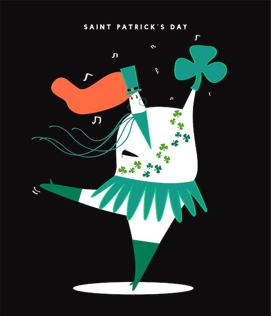 Le Jour De La Saint-patrick Vecteur gratuit