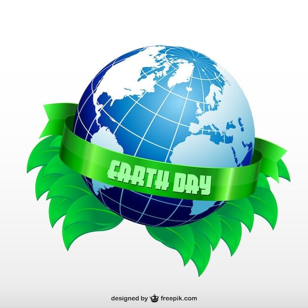 Jour De La Terre De Conception Gratuit Vecteur gratuit