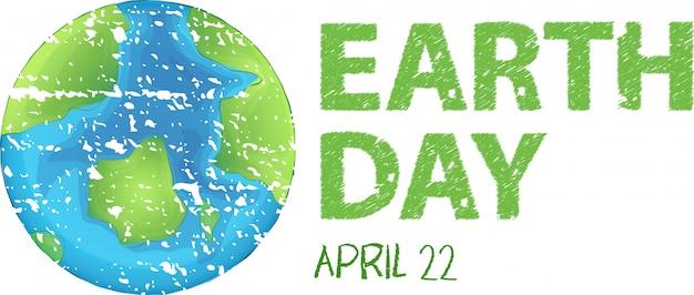 Jour de la terre Vecteur gratuit