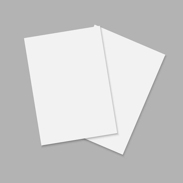 Journal ou magazine avec feuille Vecteur Premium