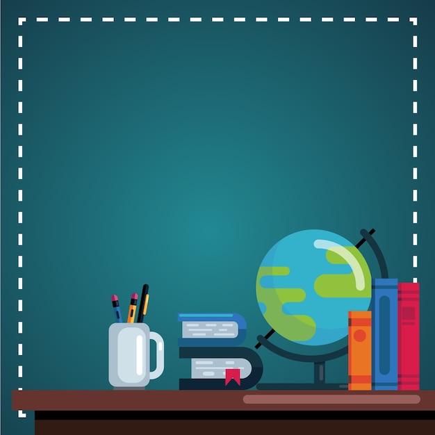 Journée des enseignants Vecteur Premium