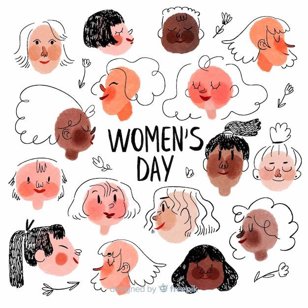 Journée de la femme Vecteur gratuit