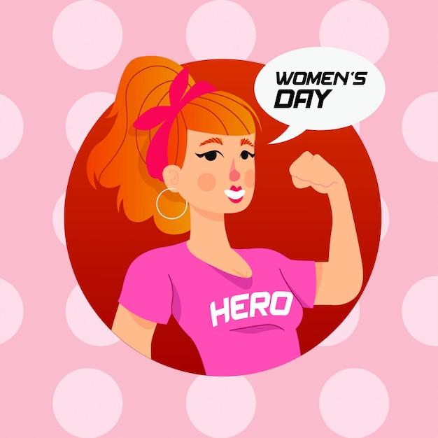 Journée de la femme Vecteur Premium