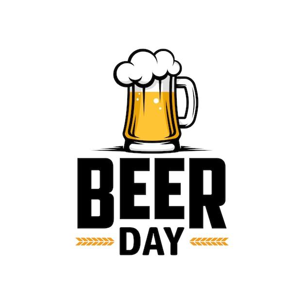 Journée Internationale De La Bière. Affiche, Flyer, Bannière. Vecteur Premium