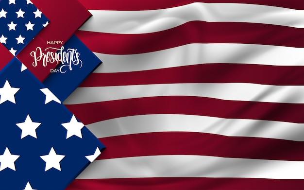 Journée Des Présidents Aux états-unis Contexte. Vecteur Premium