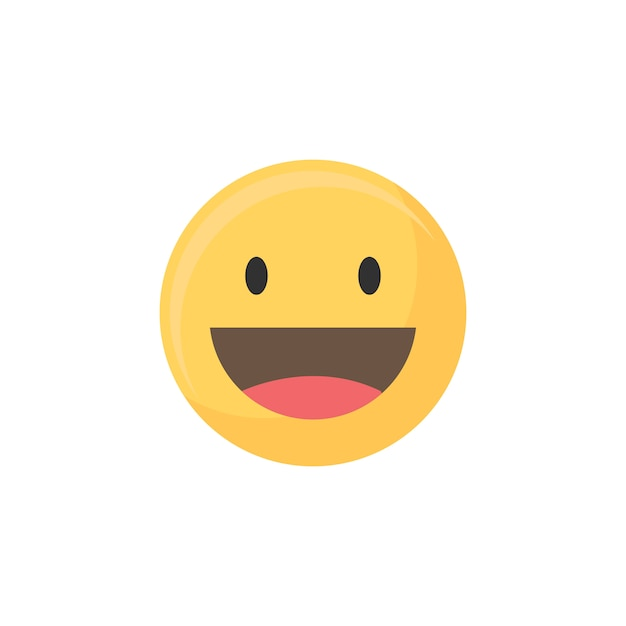 Joyeux Emoji Vecteur Gratuite