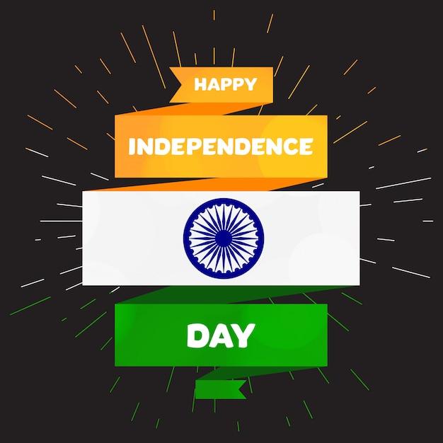 Joyeux jour de l'indépendance Vecteur Premium