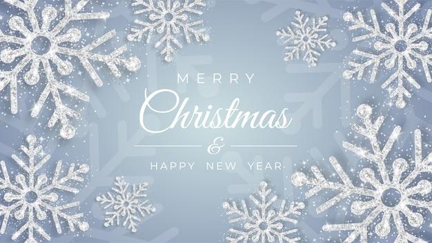 Joyeux Noël Et Bonne Nouvelle Vecteur Premium