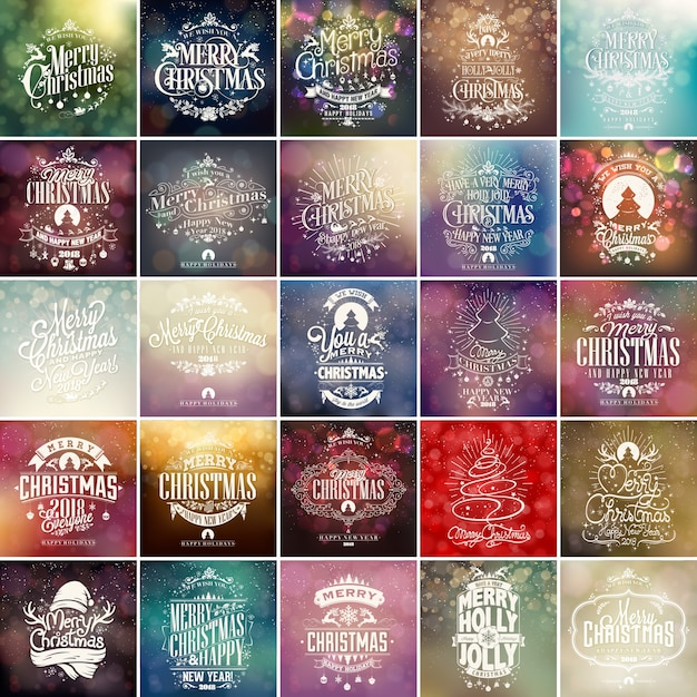 Top Joyeux Noel Vintage | Vecteurs et Photos gratuites EW28