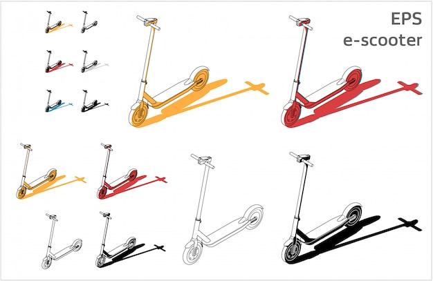 Kit e-scooter Vecteur Premium