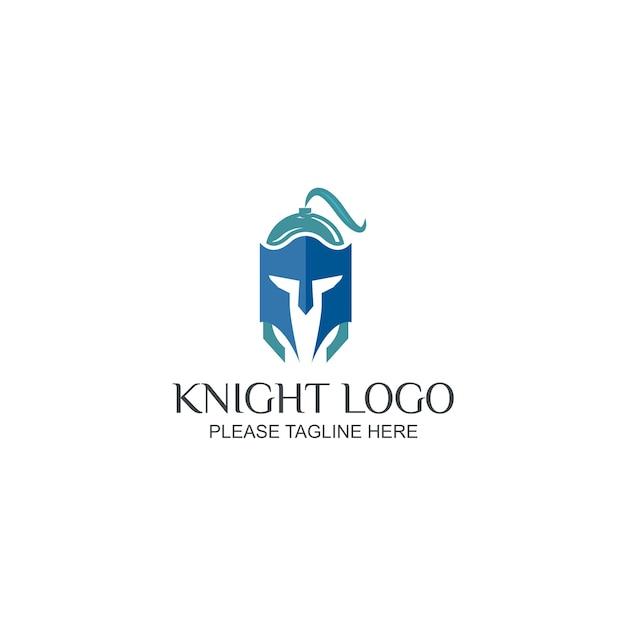 Knight logo Vecteur Premium