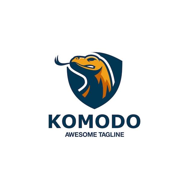 Komodo esport logo une inspiration incroyable Vecteur Premium