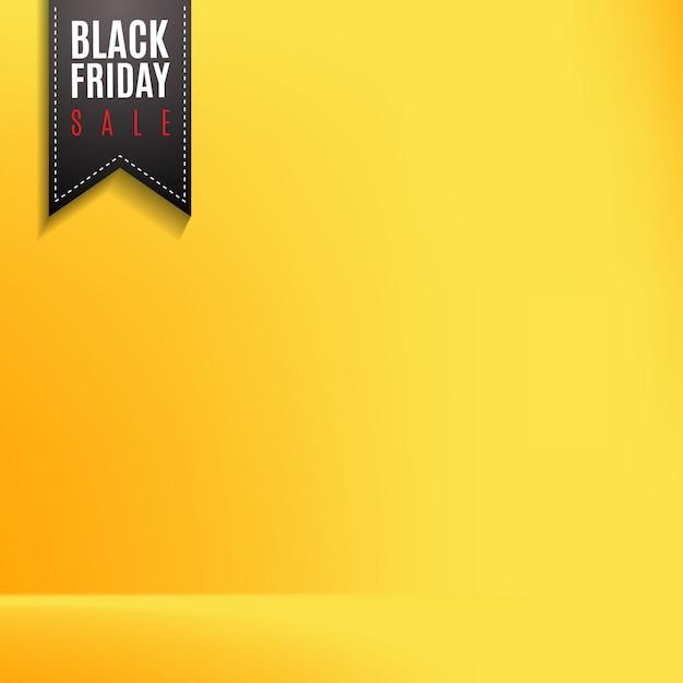 Label pour vendredi noir Vecteur Premium