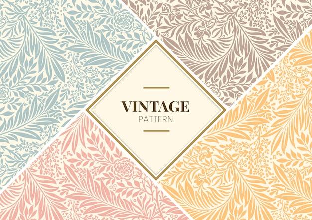Larkspur Par William Morris Vecteur gratuit