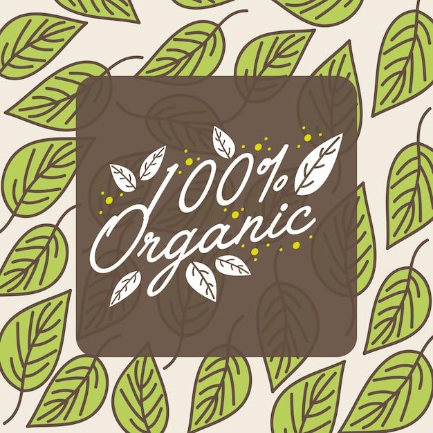 Légumes bio naturels Vecteur Premium