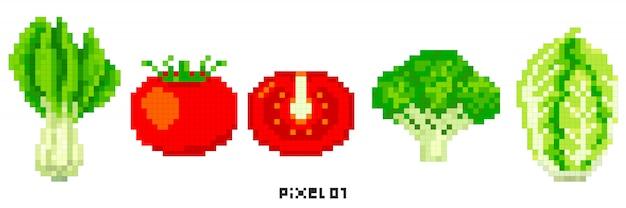 Des légumes Vecteur Premium