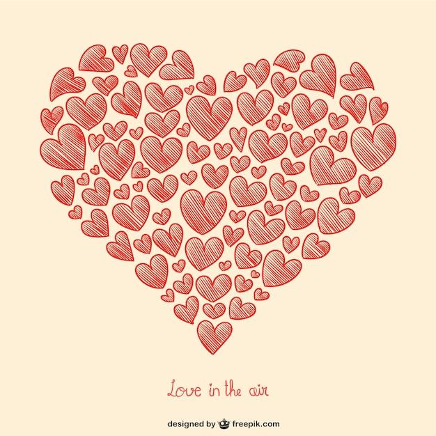 Les coeurs de saint valentin de dessin t l charger des - Image st valentin a telecharger gratuitement ...
