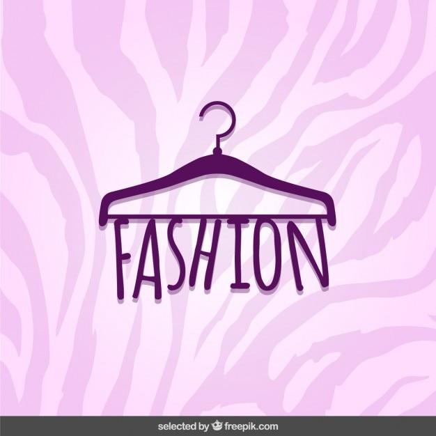 Lettrage De La Mode Vecteur gratuit