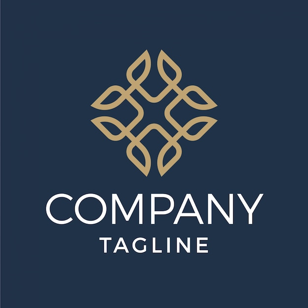 Lettre De Luxe Abstrait X Logo Monoline Diamant Vecteur Premium