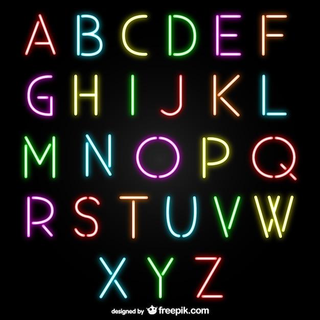 logo neon gratuit
