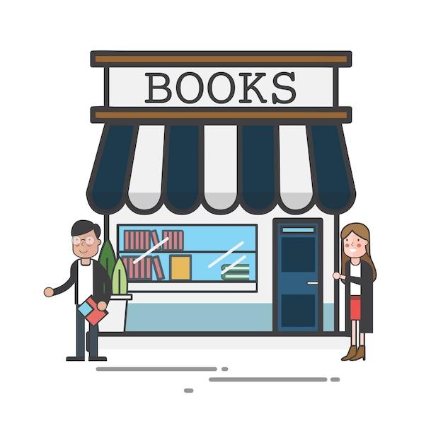 Librairie Vecteur gratuit