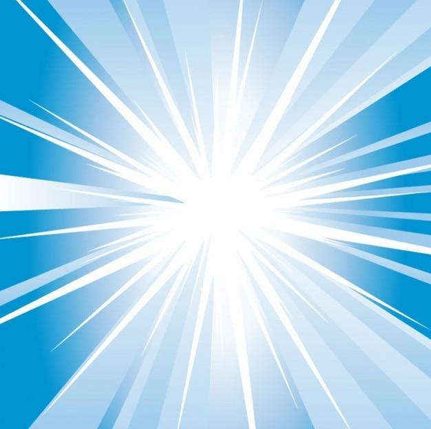 Libre abstrait bleu brillant vecteur de fond Vecteur gratuit