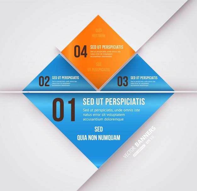 Ligne De Conduite Couverture Info Publicité Vecteur Premium