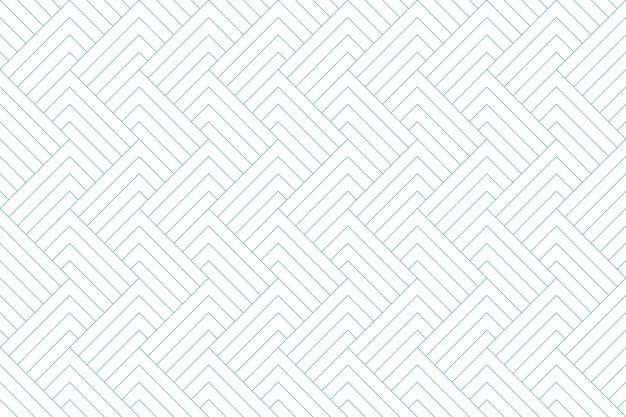 Ligne diagonale bleue transparente motif géométrique abstrait Vecteur Premium