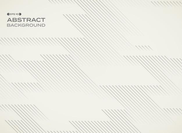 Ligne motif géométrique répétition fond avec espace. Vecteur Premium