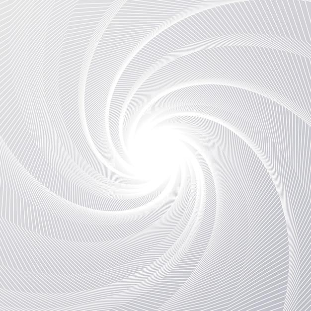 Ligne radiale vortex Vecteur Premium