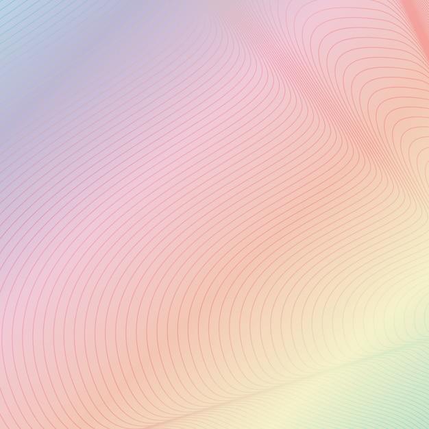 Lignes de contour Vecteur gratuit