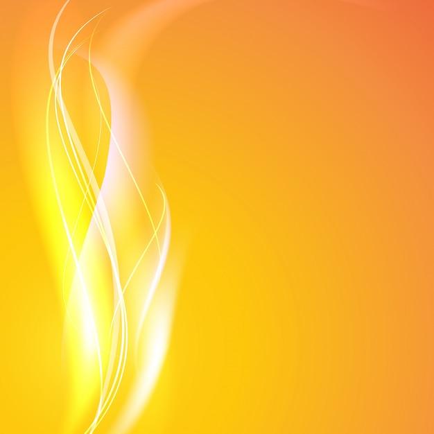 Lignes lisses abstraites Vecteur gratuit