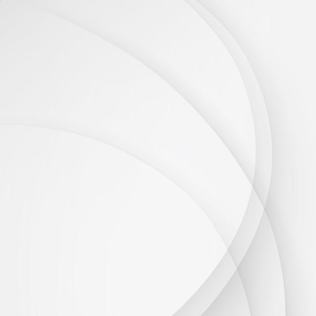 Lignes De Vague De Fond Blanc Affaires élégantes Ondulées Vecteur Premium