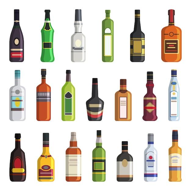 Liqueur Vecteur Premium