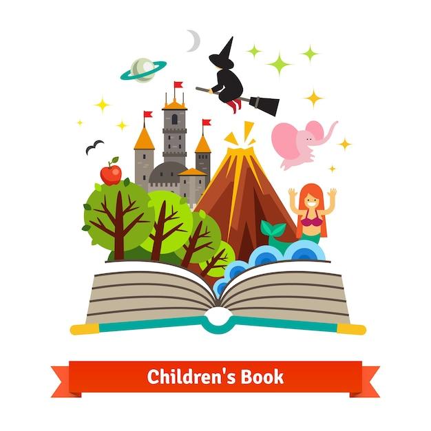 Livre Pour Enfants Telecharger Des Vecteurs Gratuitement