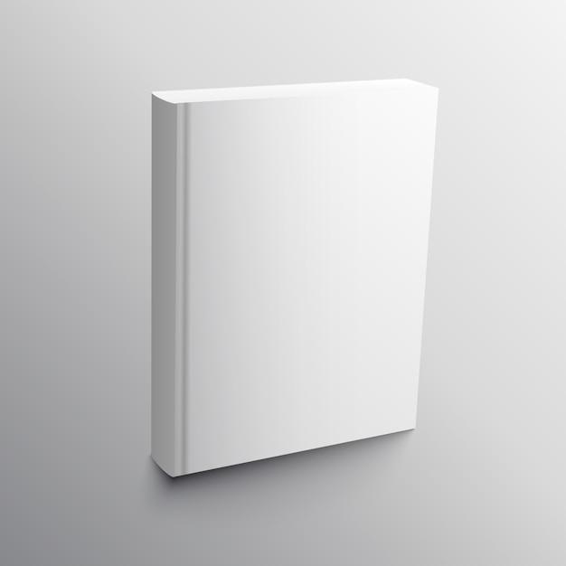 Livre Vide Modele De Modele Realiste Modele Vectoriel