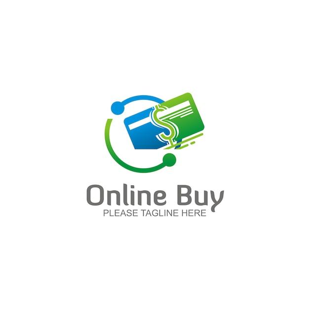 Logo d'achat en ligne Vecteur Premium