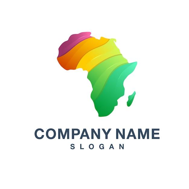 Logo Afrique Vecteur Premium