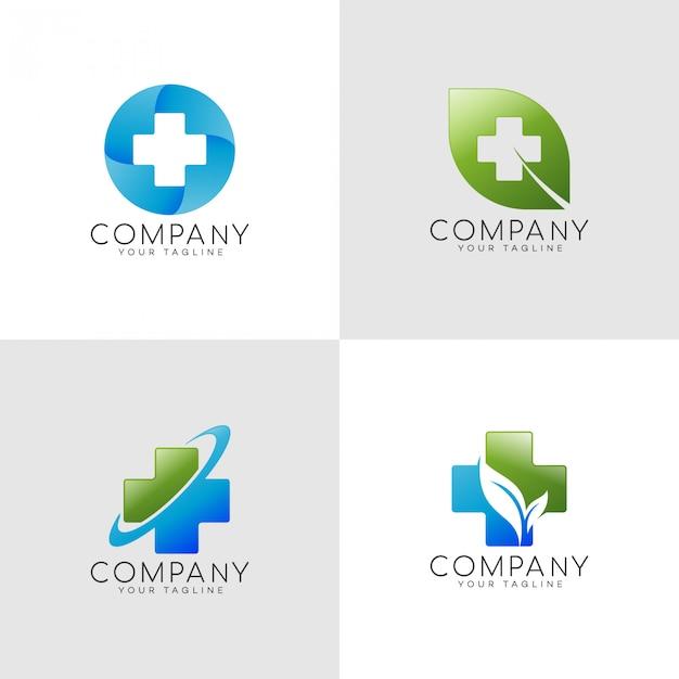 Logo de l'assurance familiale Vecteur Premium