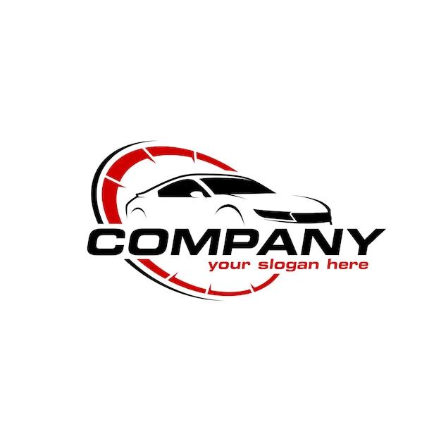 Logo auto Vecteur Premium